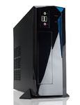 Slim Case InWin BP655 Black 200W 2*USB+AirDuct+Fan+Audio*6102911