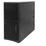 Midi Tower InWin EC021Black  450W USB+Audio ATX
