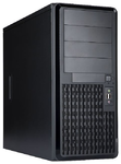 Midi Tower InWin PE689 Black 600W 2*USB 3.0+Fan+Audio+2SATA ATX RACKMOUNT*