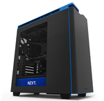 "Корпус NZXT CA-H442W-M4 H440 ""NEW EDITION"" MID TOWER W/WINDOW BLACK/BLUE"
