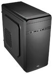 Корпус Aerocool Qs-180, mATX, без БП, 1 x USB 3.0, 2 x USB 2.0, съемный фильтр от пыли для БП