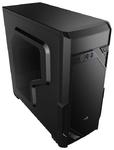 Корпус Aerocool Vs-1 Window, ATX, без БП, 2 x USB 2.0, 1 x USB 3.0, в комплекте 1 x 120-мм вентилятор