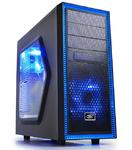 Корпус Deepcool TESSERACT SW без БП, боковое окно, черный, ATX