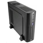 Корпус Aerocool Cs-101 Black, slim desktop, mATX/mini-ITX, 2x USB 3.0, 400 Вт SFX