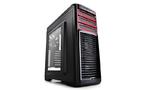 Корпус Deepcool KENDOMEN RD, без БП, боковое окно, черный, ATX, красная подсветка