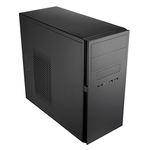MidiTower Powerman ES725 Black PM-400ATX 2*USB 2.0,HD,Audio mATX
