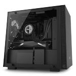 Корпус NZXT CA-H200W-BB H200i MINI-ITX BLACK/BLACK