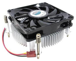 CPU Fan DP6-8E5SB-0L-GP <retail, для LGA 1150/1155/1156, 3 пин, TDP 82 Вт,винты, алюминиевый радиатор, низкопрофильный, общая высота 38 мм, вентил. 80х80х15 мм, 2600 об/мин, 27.61 CFM, rifle bearing>