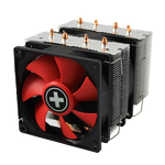 XILENCE Performance C CPU cooler, M504D, PWM, 2x92mm fan, 4 heat pipes, Universal
