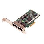 DELL NIC Broadcom 5719 QP 1Gb Network Interface Card, Full Height - Kit (analog 540-BBGX)