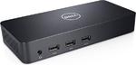 Док-станция Dell USB 3.0 Ultra HD Triple Video Docking Station D3100 EUR