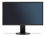 """NEC 22"""" E223W-BK LCD Bk/Bk ( TN; 16:10; 250cd/m2; 1000:1; 5ms; 1680x1050; 170/160; D-sub; DVI-D; DP; HAS 110mm; Tilt; Swiv 45/45; Pivot)"""