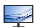 "21,5"" Philips 223V5LSB2 1920x1080 TN LED 16:9 5ms VGA 10M:1 90/65 200cd Black/"