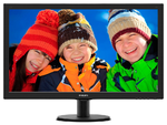 "27"" Philips 273V5LHSB 1920x1080 TN LED  16:9 5ms VGA HDMI 20M:1 170/160 300cd Black"