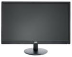 """23,6"""" AOC M2470SWH 1920x1080 MVA LED 16:9 5ms D-Sub 2*HDMI 50M:1 178/178 250cd Speakers Black"""