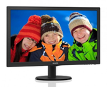 "23,6"" Philips 243V5QHSBA  1920x1080 MVA LED 16:9 8ms VGA, DVI, HDMI 10M:1 178/178 250cd Black*"