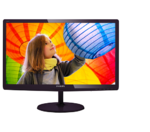 "23,6"" Philips 247E6LDAD TFT W-LED 1920x1080 16:9 1ms VGA DVI MHL-HDMI 20M:1 170/160 250cd Speakers Black-Cherry."