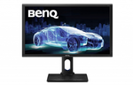 "BENQ 27"" PD2700Q AHVA LED, 2560x1440, 4ms, 300cd/m2, 20M:1, 178°/178°, HDMI,  DP1.2, miniDP1.2, USB 2.0*2, картридер, speakers, HAS Pivot Tilt Swivel Black"