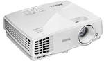 Проектор Benq MW571 DLP; WXGA; 3200 AL; High Contrast Ratio 13,000:1; 10000 hrs lamp life; 1.3X zoom; T/R 1.21-1.57; SmartEco; 3D via HDMI; 1.9kg; 10W speaker; Noise level: 28dB; HDMI 1.4a; Lan contro