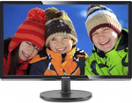"20,7"" Philips 216V6LSB2 1920x1080 LED 16:9 5ms VGA 10M:1 90/65 200cd Black"