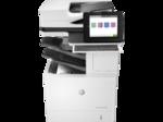 HP LaserJet Enterprise Flow M632z MFP (p/c/s/f, A4,1200dpi,61ppm,1,5Gb,HDD320enc,4 trays 100+2х550+2000,ADF150,Duplex,stand,stepler,USB/Gig Eth,cart.11k in box,1y warr.repl.B3G86A)