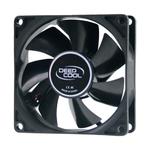 Вентилятор DEEPCOOL Xfan80 80x80x25мм (240шт./кор, пит. от БП, черный, 1800об/мин)  Color BOX