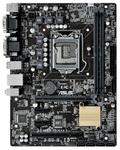 ASUS H110M-C, LGA1151, H110, 2*DDR4, D-Sub+DVI, SATA3, Audio, Gb LAN, USB 3.0*4, USB 2.0*6, LPT*1 header (w/o cable), COM*1 back panel + 1 header(w/o cable), mATX ; 90MB0NY0-M0EAY0