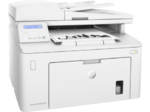 HP LaserJet Pro MFP M227sdn (p/c/s, A4, 1200dpi, 28ppm, 256Mb, 2 trays 250+10, Duplex, ADF 35 sheets, USB/Eth, Flatbed, white, Cartridge 1600 pages in box, 1 warr, repl. CF486A)