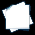 Маркер самоклеющийся, л.А4, 16х7, на розетки,  белый, 350 шт/л.