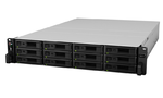 Synology (Rack2U) 6C2,2Ghz/8Gb (64)/RAID0,1,10,5,6/upto12HP HDDs SATA(3,5'or2,5')upto 36 with 2xRX1217RP/2xUSB/4GigEth+2x10GE(+4x10GEopt)/iSCSI/ 2xIPcam(upto90)/2x (незначительное повреждение коробки)