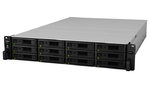 Synology(Rack 2U) 6C2,2GhzCPU/16Gb(128)/RAID0,1,10,5,6/up to12HP HDDs SATA,SAS(3,5' 2,5')up to 180 (7xRX2417sas or 7xRX1217sas)/2xUSB/4GigEth+2x10GE(+2Expslot)/iS (незначительное повреждение коробки)