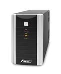Powerman UPS Black Star Plus 500VA/300W, AVR+interface+soft+int/tel. protect, Out: 2xShuko, Black*BlackStarPlus500