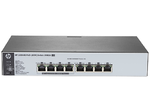 HPE 1820 8G PoE+ (65W) Switch (4 ports 10/100/1000 + 4 ports 10/100/1000 PoE+, WEB-managed)
