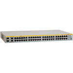Allied Telesis 48  Port Fast Ethernet WebSmart Switch with 4 uplink ports (2  x 10/100/1000T and  2 x SFP-10/100/1000T Combo ports)