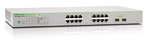 Allied Telesis Gigabit Smart Access PoE+ switch 16 ports