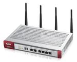 ZyXEL USG 60W. Центр безопасности для малого офиса с беспроводной точкой доступа 4x LAN/DMZ, 2x WAN