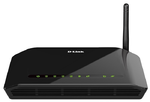 D-Link DSL-2640U/RB/U2B, Wireless N 150 ADSL2+ Modem Router (Annex B) ADSL: 1 RJ-11 port LAN: 4 RJ-45 10/100BASE-TX Fast Ethernet ports with auto-MDI/MDIX WLAN: built-in 802.11b, g, and n wireless int