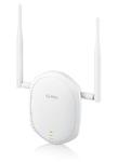 Zyxel NWA1100-NH High Power PoE AP Точка доступа Wi-Fi 802.11b/g/n 2,4 ГГц, 300Мбит/с; повышенного радиуса действия с внешними съёмными антеннами, поддержкой режимов репитера и беспроводного клиента