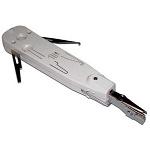 ITK Инструмент для заделки витой пары, тип Krone с крючками серый