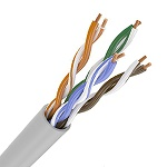 ITK Коммутационный шнур (патч-корд), кат.5Е UTP, 1м, серый