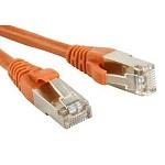 ITK Коммутационный шнур (патч-корд), кат.5Е UTP, 1м, оранжевый