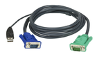 ATEN CABLE HD15M/USB A(M)--SPHD15M; 3M