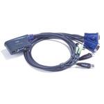 ATEN 2 PORT USB KVM  Switch.