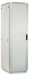 Шкаф телекоммуникационный напольный 42U (800x1000) дверь перфорированная 2 шт. (3 места), [ ШТК-М-42.8.10-44АА ]
