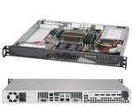 Supermicro SuperServer 1U 5019S-ML no CPU(1) E3-1200v5/6thGenCorei3/ no memory(4)/ on board RAID 0/1/5/10/ no FixedHDD(2)LFF/ 2xGE/ 1xPCIEx8, 1xM.2 connector/ 1noRx350W
