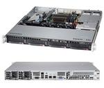 Supermicro SuperServer 1U 5018D-MTRF no CPU(1) E3-1200v3/v4,4thGenCorei3,Pent,Cel/ no memory(4)/ on board RAID 0/1/5/10/ no HDD(4)LFF/ 2xGE/ 1xFH/ 2Rx400W Gold/ Backplane 4xSATA/SAS