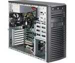 Supermicro SuperWorkstation Mid-Tower 5039A-iL CPU(1) E3-1200v5/ noHS/ no memory(4)/ on board RAID 0/1/5/10/ internalHDD(4)LFF/ 2xGE/ 6xFH/ 1x500W Gold/ no Backplane