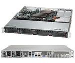 Supermicro SuperServer 1U 6018R-MTR no CPU(2) E5-2600v3/v4 no memory(8)/ on board C612 RAID 0/1/5/10/ no HDD(4)LFF/ 2xGE/ 1xFH/ 2x400 Platinum/ Backplane 4xSATA/SAS