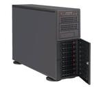 Supermicro SuperServer 4U 7048R-TR no CPU(2) E5-2600v3/v4 no memory(16)/ on board RAID 0/1/5/10/ no HDD(8)LFF/ 2xGE/ 6x PCI-E/ 2x920W/ Backplane 8xSATA/SAS